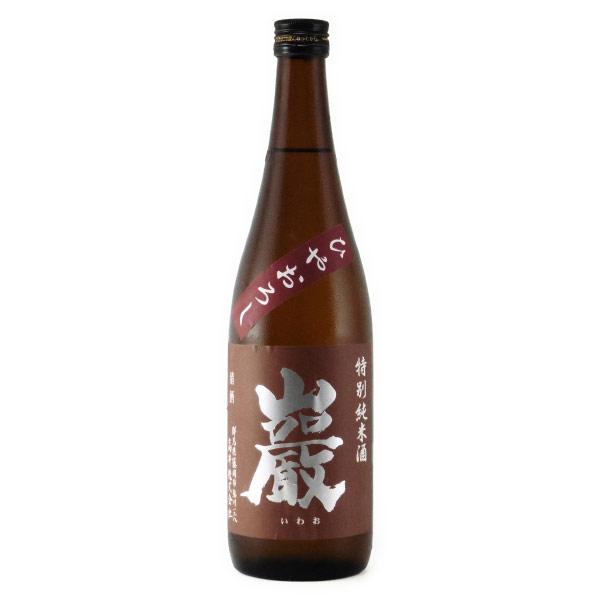 巌 純米酒 ひやおろし酒 群馬県高井株式会社 720ml