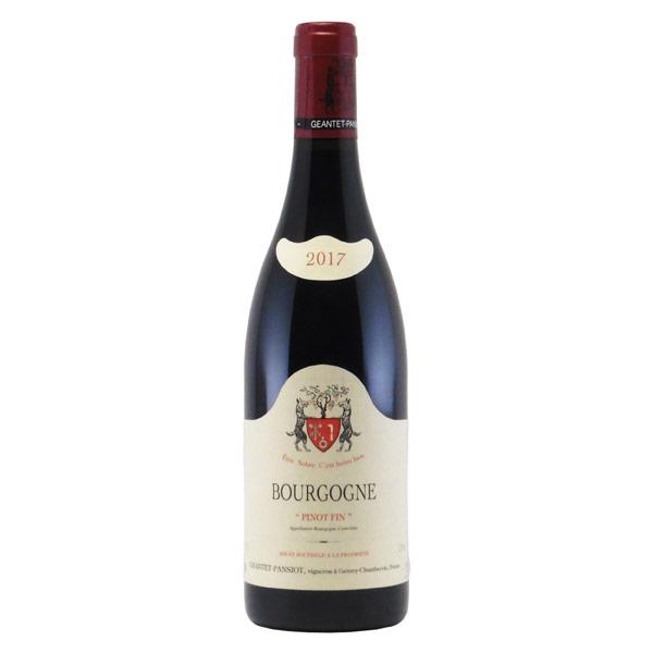 ブルゴーニュ・ピノ・ファン 2017 ジャンテ・パンショ フランス ブルゴーニュ 赤ワイン 750ml