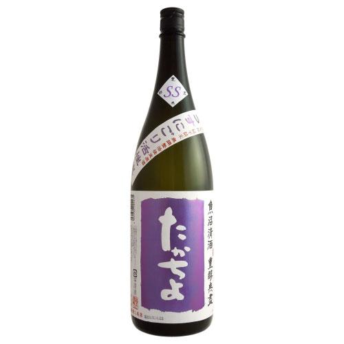 たかちよ豊潤無塵「紫」 うすにごり活性生原酒 新潟県高千代酒造 1800ml