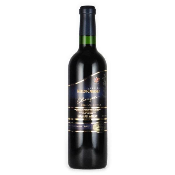 高畠メルロー&カベルネ クラシック 2016 高畠ワイナリー 日本 山形 赤ワイン 720ml