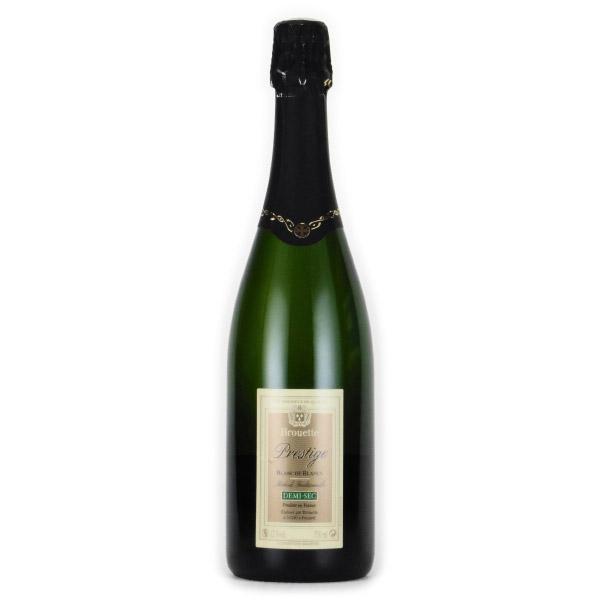ブルエット・プレステージ ブラン・ド・ブラン・ドゥミ・セック ブルエット フランス ボルドー スパークリング白ワイン 750ml