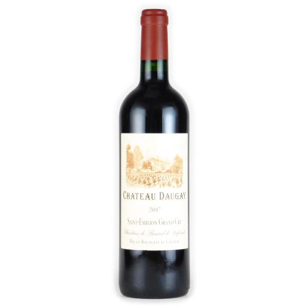シャトー・ドーゲ サンテミリオン・グランクリュ 2007 シャトー元詰め フランス ボルドー 赤ワイン 750ml