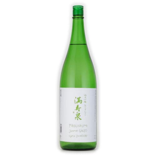 満寿泉 純米吟醸 無濾過生原酒 生うすにごり 富山県枡田酒造 1800ml