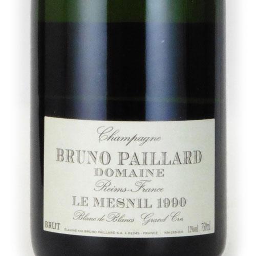 ブルーノ・パイヤール 1990 ブルーノ・パイヤール フランス シャンパーニュ 白ワイン 750ml