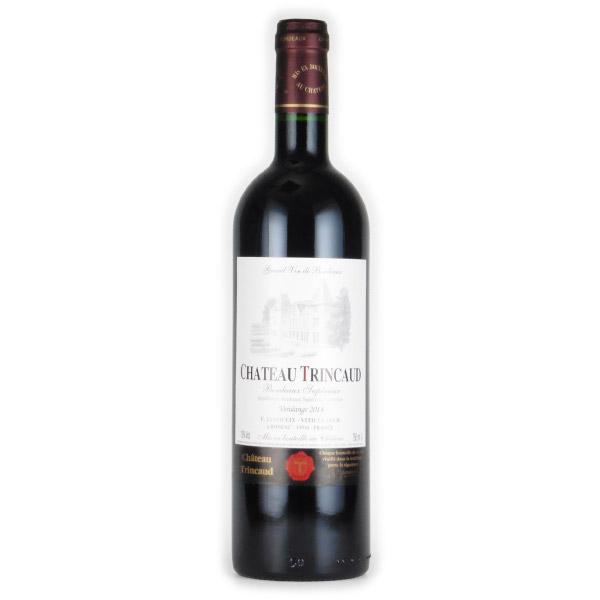 シャトー・トランコー ボルドー・スペリュール 2014 シャトー元詰め フランス ボルドー 赤ワイン 750ml