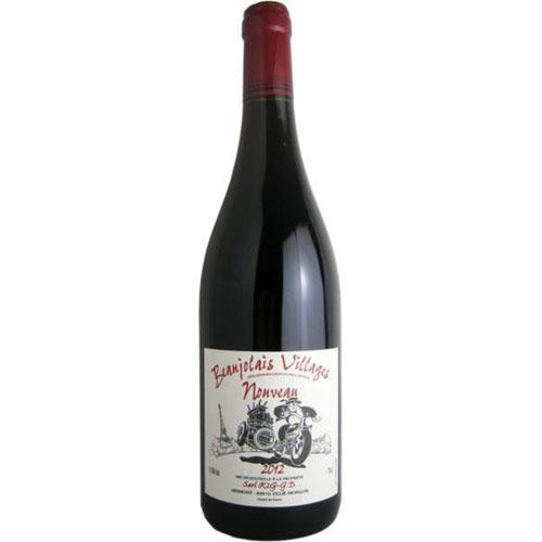 【新酒ヌーボ】ボージョレ・ヴィラージュ・ヌーボ 2015 ジョルジュ・デコンブ フランス ブルゴーニュ 新酒赤ワイン 750ml