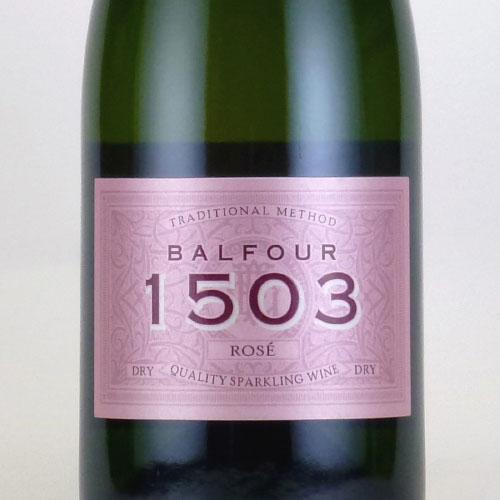 バルフォー 1503 ロゼ ドライ ハッシュ・ヒース・エステイト イギリス イングランド スパークリングロゼワイン 750ml
