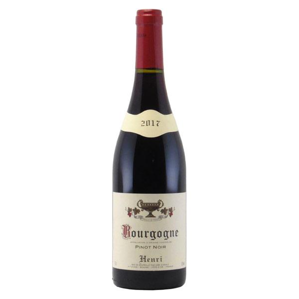 ブルゴーニュ・ピノ・ノワール 2017 アンリ フランス ブルゴーニュ 赤ワイン 750ml