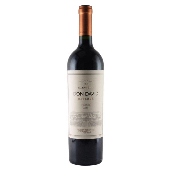 エル・エステコ タナ レゼルバ 2014 ドン・ダビ アルゼンチン カルチャキ・ヴァレー 赤ワイン 750ml