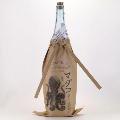 マダコ 海賊魚 無加水麦焼酎 ワイン酵母仕込 宮崎県大手門酒造 1800ml
