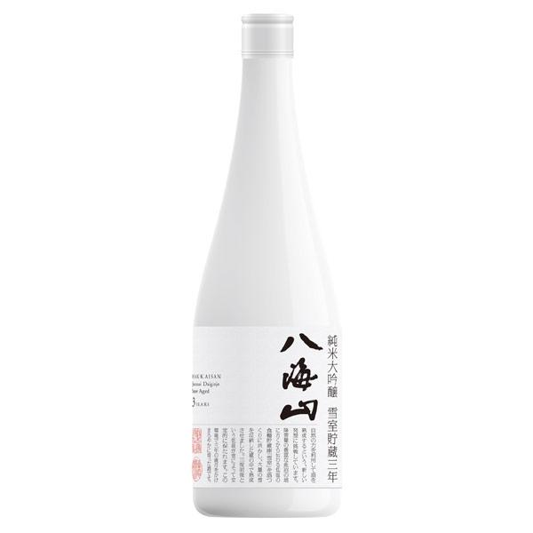 八海山 純米大吟醸 雪室貯蔵三年酒 生詰 新潟県八海醸造 720ml