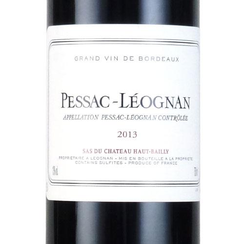 ペサック・レオニャン・ド・シャトー・オーバイイ 2013 シャトー元詰 フランス ボルドー 赤ワイン 750ml