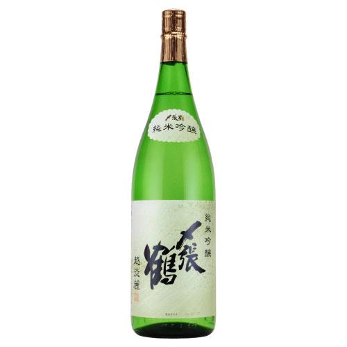 〆張鶴 越淡麗 純米吟醸酒 新潟県宮尾酒造 1800ml