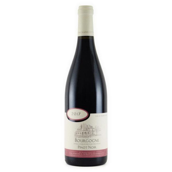 ブルゴーニュ ルージュ 2017 ロブロ・マルシャン フランス ブルゴーニュ 赤ワイン 750ml