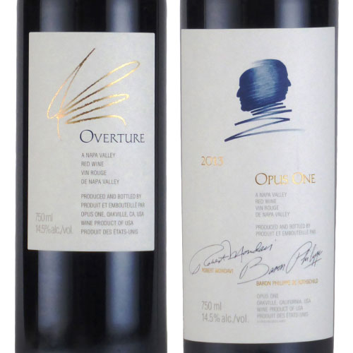 オーヴァチュア&オーパス・ワン セット 2013 オーパス・ワン アメリカ カリフォルニア 赤ワイン 750ml