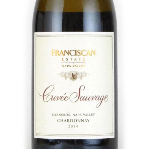 フランシスカン・ナパ・カーネロス キュヴェ・ソヴァージュ・シャルドネ 2014 フランシスカン アメリカ カリフォルニア 白ワイン 750ml