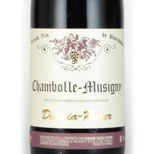 シャンボール・ミジュニー 2015 ディジオイア・ロワイエ フランス ブルゴーニュ 赤ワイン 750ml