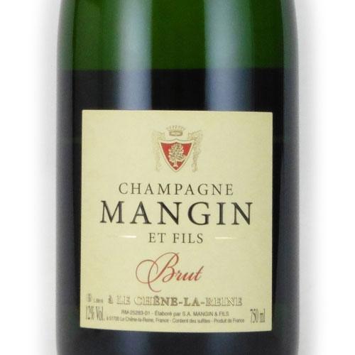マンジャン・ブリュット ブラン・ド・ノワール マンジャン フランス シャンパーニュ 白ワイン 750ml