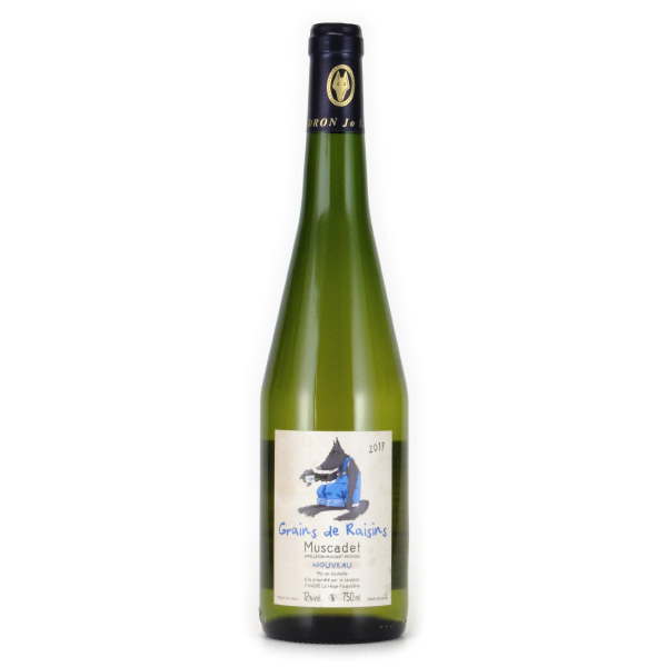 ミュスカデ・ヌーヴォ 2017 ジョセフ・ランドロン フランス ロワール 白ワイン 750ml