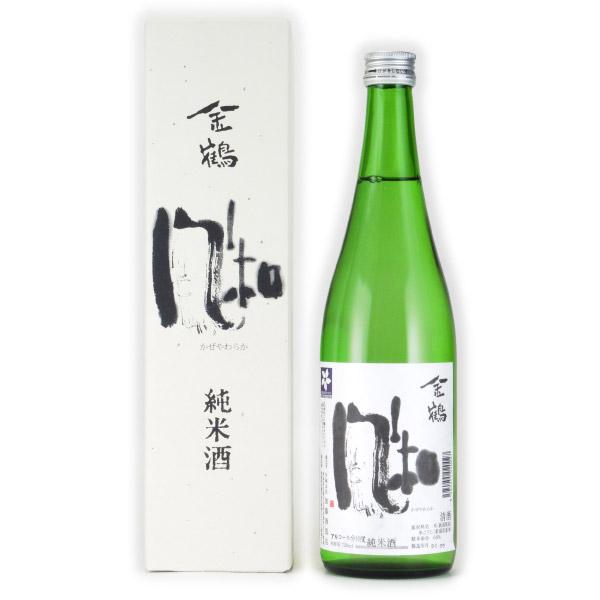 金鶴 風和 純米酒 加藤酒造店 720ml