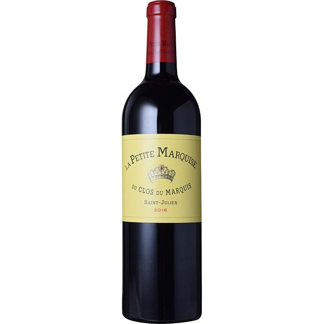 ラ・プティット・マルキーズ 2015 シャトー元詰 フランス ボルドー 赤ワイン 750ml