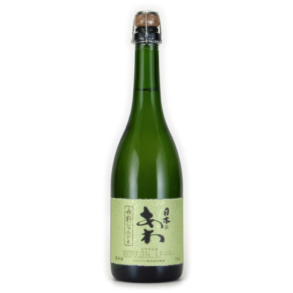 日本のあわ 長野シャルドネ シャトー・メルシャン 日本 長野 白ワイン 750ml