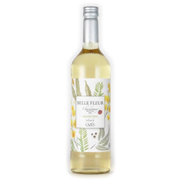 ベル・フルール シャルドネ オーガニック 2016 ドメーヌ・カズ フランス ラングドック 白ワイン 750ml