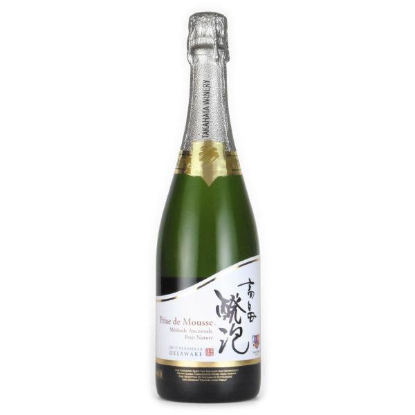 高畠 醗泡 デラウェア プリデムース・ブリュット・ナチュール 2017 高畠ワイナリー 日本 山形 白ワイン 750ml