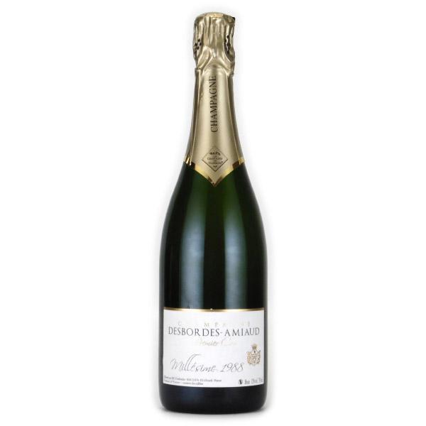 デボルド・アミオー ブリュット・ミレジム・プルミエクリュ 1988 フランス シャンパーニュ 白ワイン 750ml
