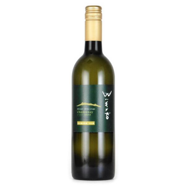 シャルドネ樽熟ノンフィルター 無濾過 2014 琵琶湖ワイナリー 日本 滋賀 白ワイン 720ml