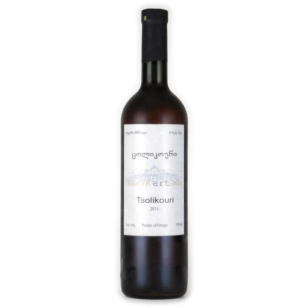ツォリコウリ 2015 マルトヴィレ ジョージア サメグレロ オレンジワイン 750ml