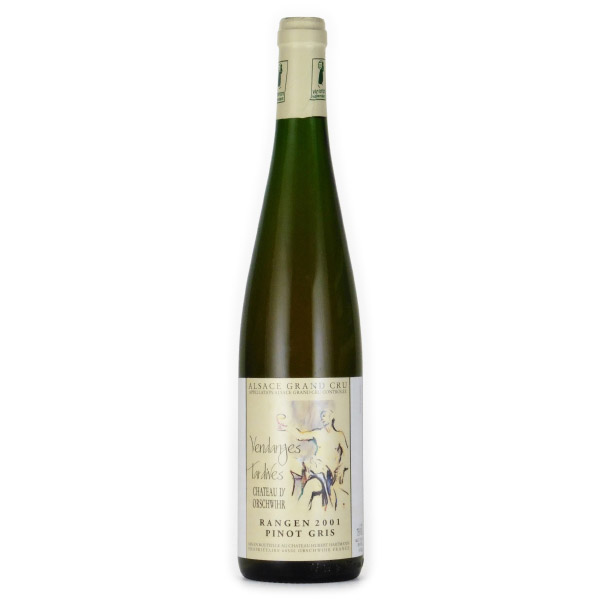 ピノ・グリ グラン・クリュ・ランゲン 2001 シャトー・ドルシュヴィール フランス アルザス 白ワイン 750ml