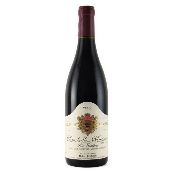 シャンボール・ミジュニー レ・ビュシエール 2009 ユベール・リニエ フランス ブルゴーニュ 赤ワイン 750ml