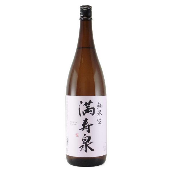 満寿泉 純米酒 無濾過生原酒 富山県枡田酒造 1800ml