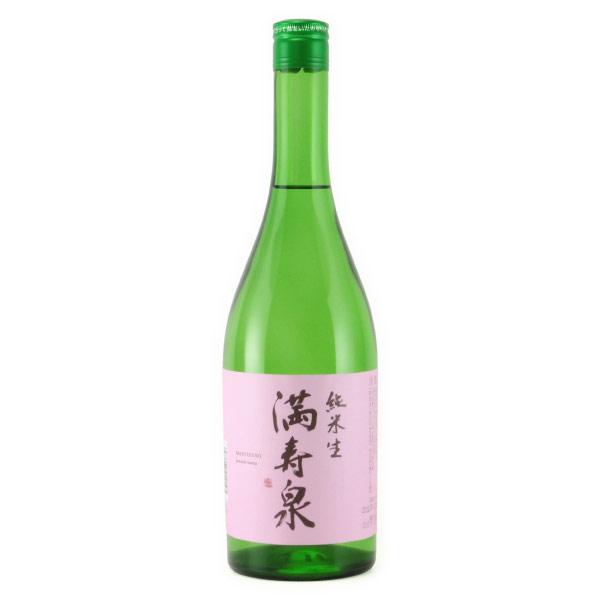 満寿泉 純米酒 無濾過生原酒 富山県枡田酒造 720ml
