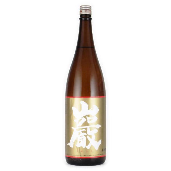 巌 純米 純米酒 しぼりたて生酒 群馬県高井株式会社 1800ml