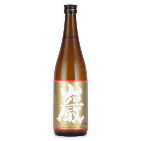 巌 純米 純米酒 しぼりたて生酒 群馬県高井株式会社 720ml