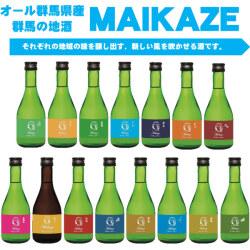 オール群馬の地酒 「舞風」 飲み比べ 300ml×15本セット 群馬県15蔵