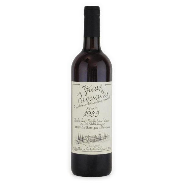 ヴュー・リヴザルト 1989 ドメーヌ・サント・ジャクリーヌ フランス ラングドック 赤ワイン 750ml