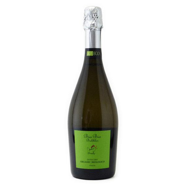 ビオビオ スプマンテ エクストラドライ チェーロ・エ・テッラ イタリア 白ワイン 750ml