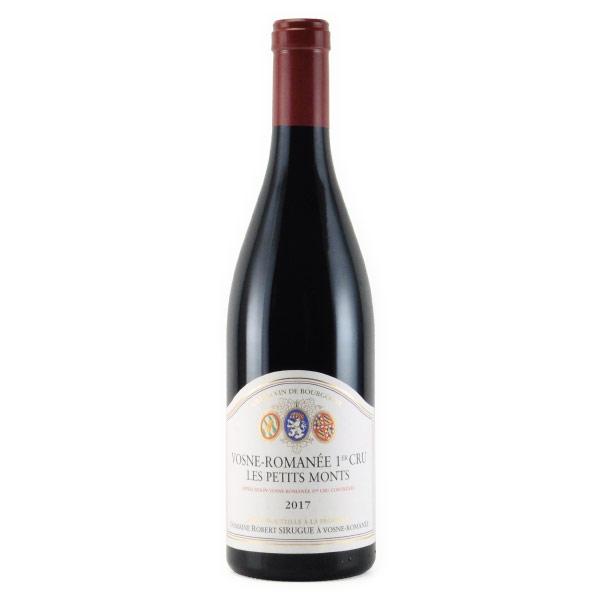 ヴォーヌ・ロマネ 1er Cru レ・プティ・モン 2017 ロベール・シュルグ フランス ブルゴーニュ 赤ワイン 750ml