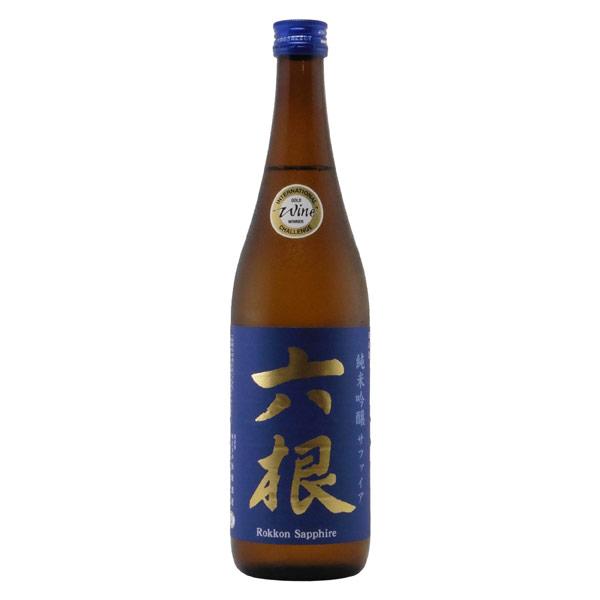 六根 サファイア 純米吟醸酒 青森県松緑酒造 720ml