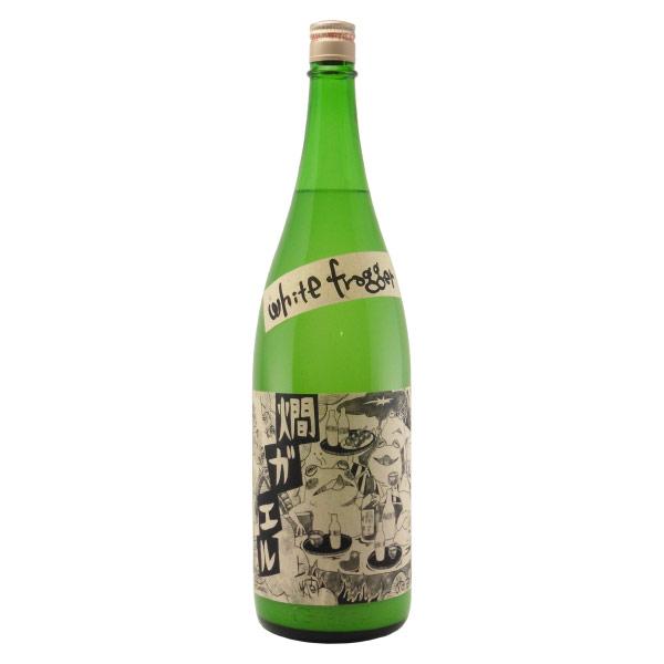 燗ガエル 生もと純米酒 にごり酒 滋賀県北島酒造 1800ml