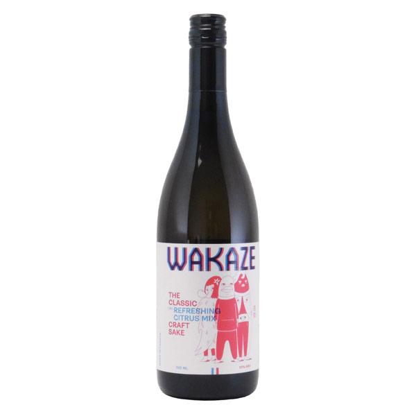 WAKAZ ザ・クラシック 純米酒と同等酒 100%フランス産原料 フランス県WAKAZE 750ml