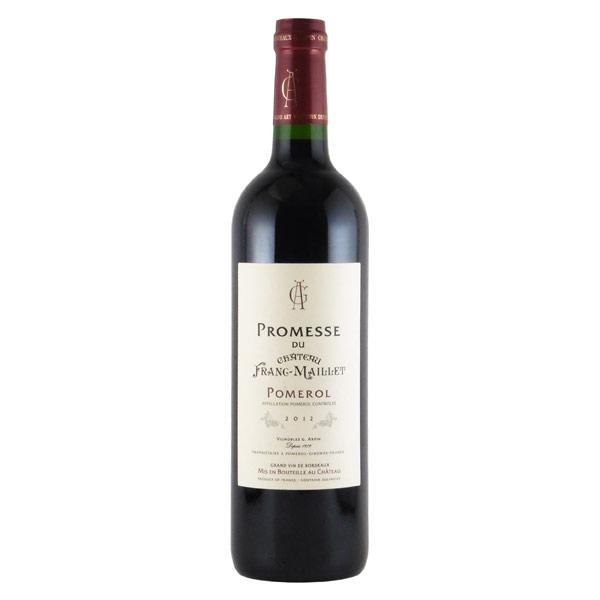 プロメス・デュ・シャトー・フラン・マイエ 2012 シャトー元詰 フランス ボルドー 赤ワイン 750ml