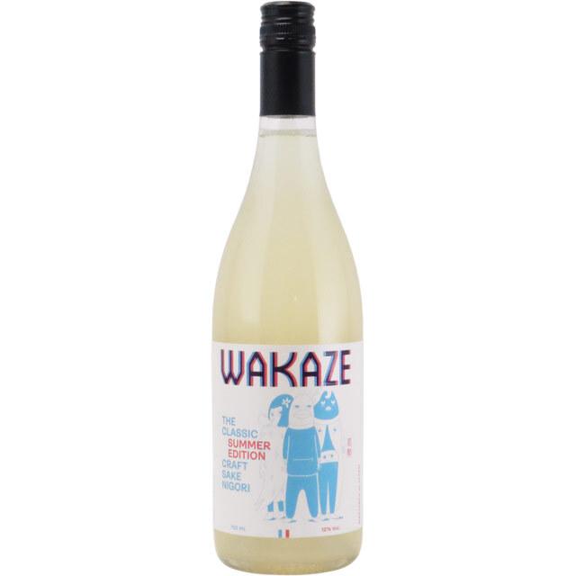 WAKAZE ザ・クラシック Nigori にごり酒 100%フランス産原料 フランス県WAKAZE 750ml