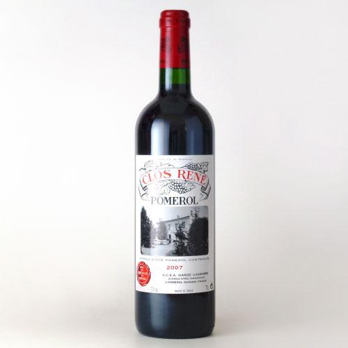 クロ・ルネ 2007 シャトー元詰 フランス ボルドー 赤ワイン 750ml
