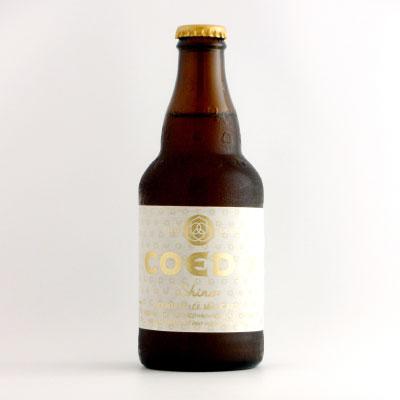 COEDOビール 白 瓶