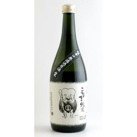こなき純米  超辛口無濾過酒 鳥取県千代むすび酒造 720ml