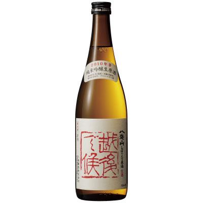 八海山 純米吟醸 しぼりたて生原酒 新潟県八海醸造 720ml